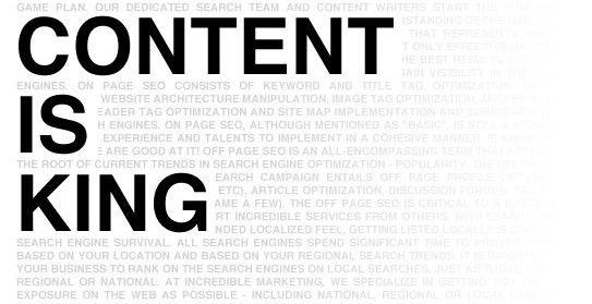 充分考虑用户体验后网站建设与内容建设并不简单