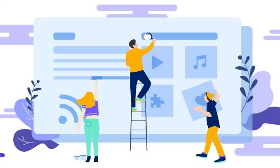 网站设计制作中常用排版布局方式及未来趋势描述